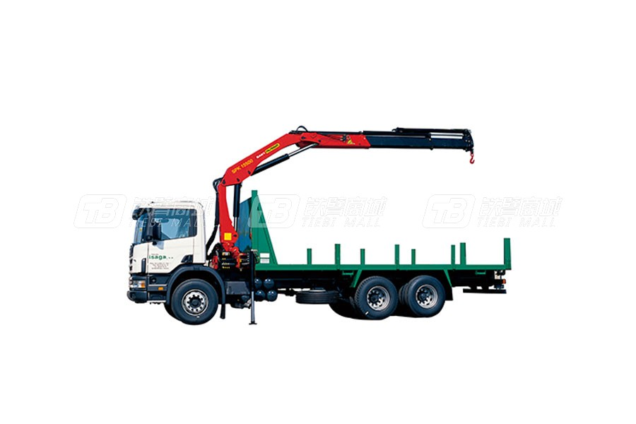 三一SPK1550014.6吨米折臂式随车起重机