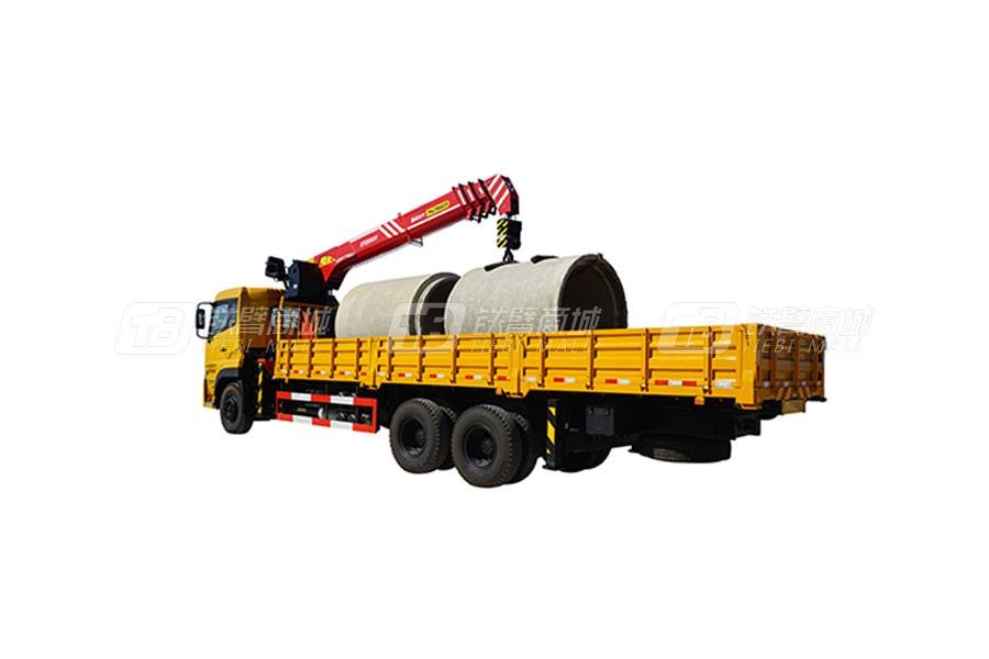 三一SPS2500010吨直臂式随车起重机