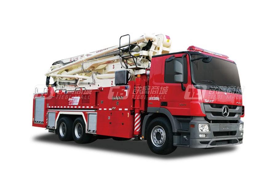 三一SYM5330JXFJP38 38米三一大跨度举高喷射消防车