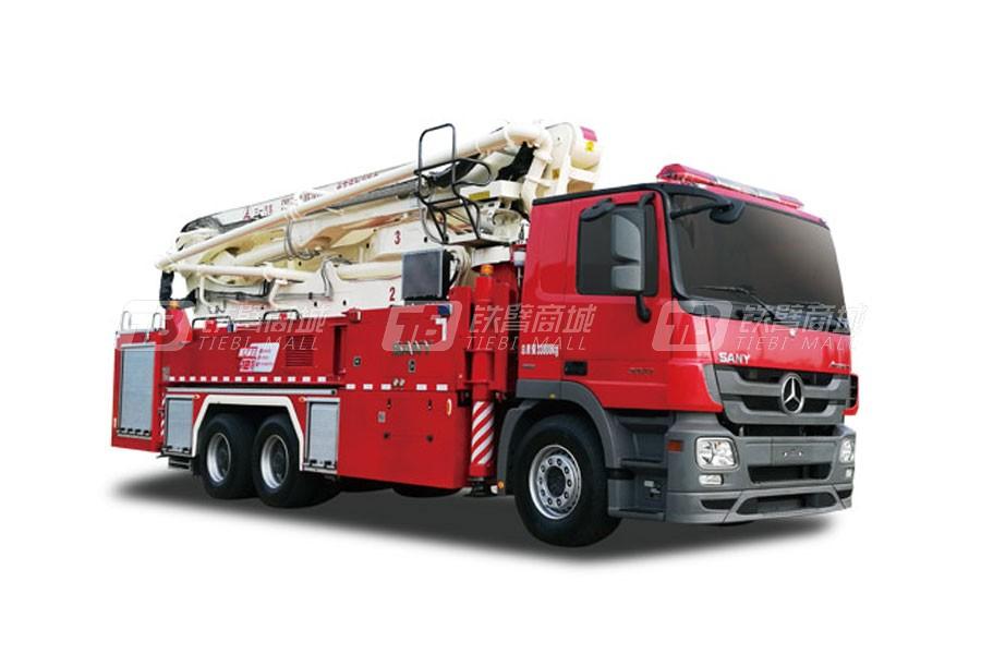三一SYM5330JXFJP4141米三一大跨度举高喷射消防车