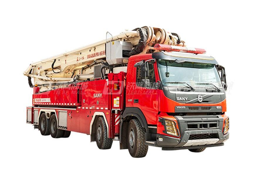 三一SYM5420JXFJP56 56米三一大跨度举高喷射消防车