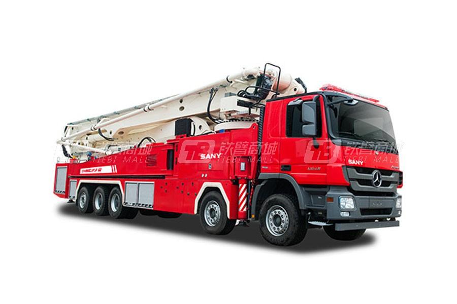 三一SYM5530JXFJP6262米三一大跨度举高喷射消防车