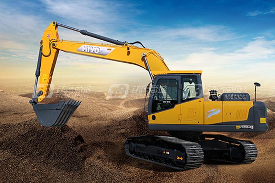 恒岳HY235-8履带挖掘机