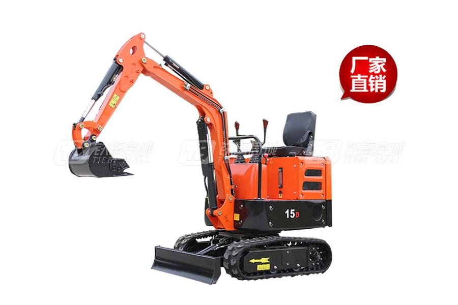 山鼎SD15D小型挖掘机