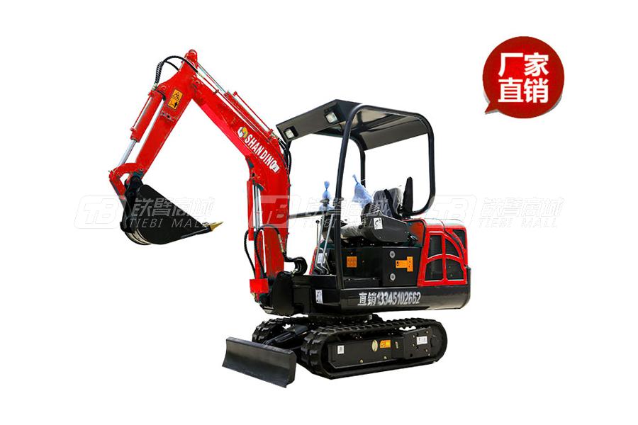 山鼎SD17B小型挖掘机