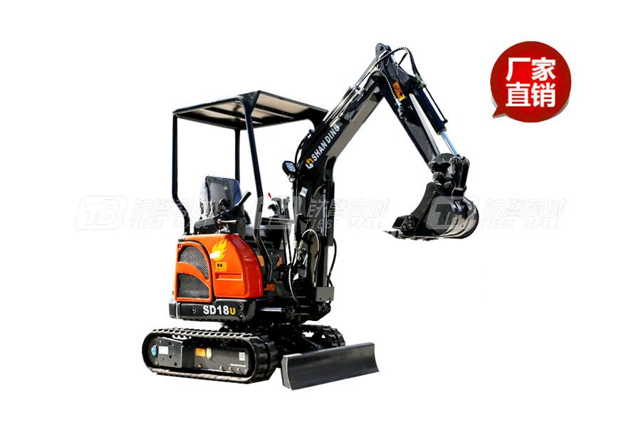 山鼎SD22U尊贵型小型挖掘机