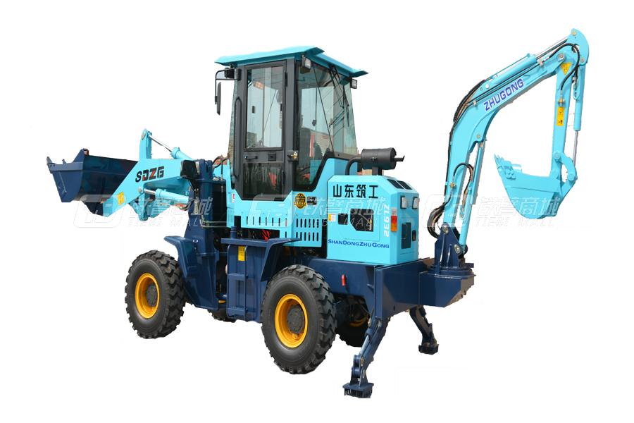 鲁特重工ZG-932型挖掘装载机