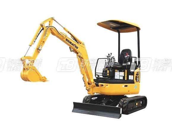 小松PC18MR-3履带挖掘机