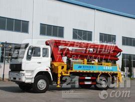 宜工JTZ5160THB22米臂架泵泵车