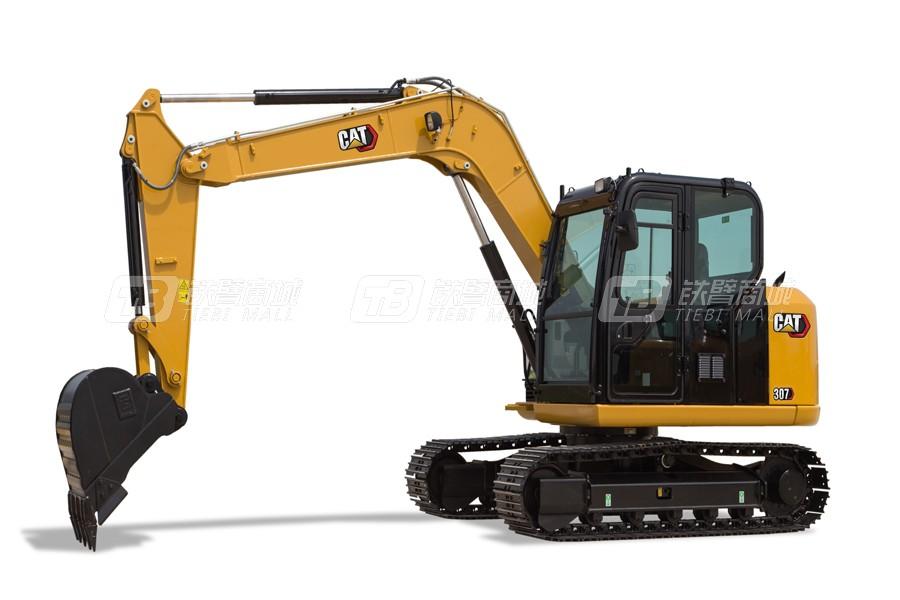 卡特彼勒新一代CAT®307小型液压挖掘机