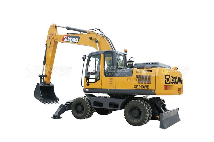 徐工XE210WB轮式挖掘机