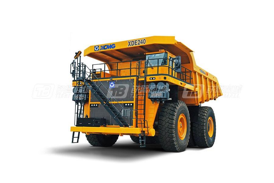 徐工XDE240电传动自卸车