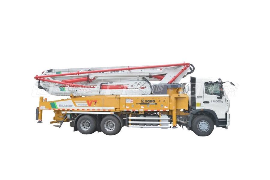 徐工HB48K混凝土泵车( 重汽底盘)