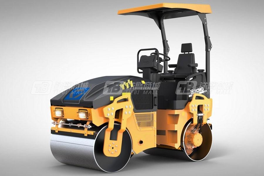 徐工XMR353E轻型双钢轮压路机