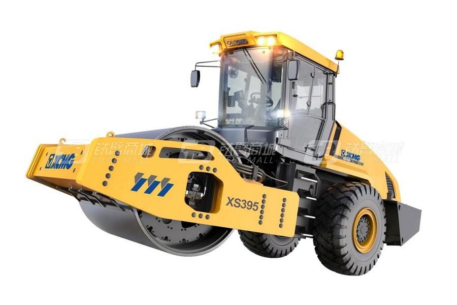 徐工XS395全液压单钢轮压路机