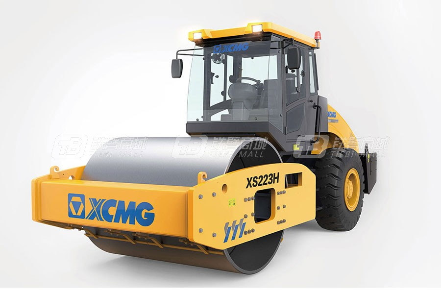 徐工XS223H全液压单钢轮压路机