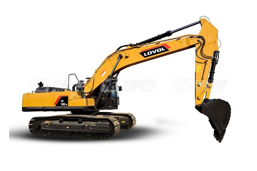 雷沃重工FR480E-HD履带挖掘机
