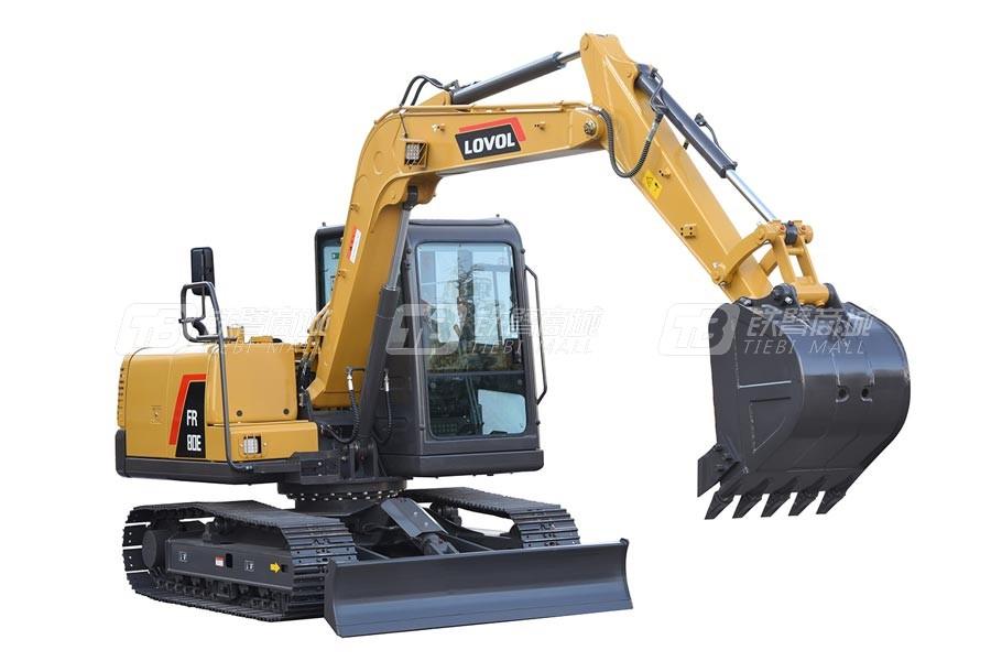 雷沃重工FR80E履带挖掘机
