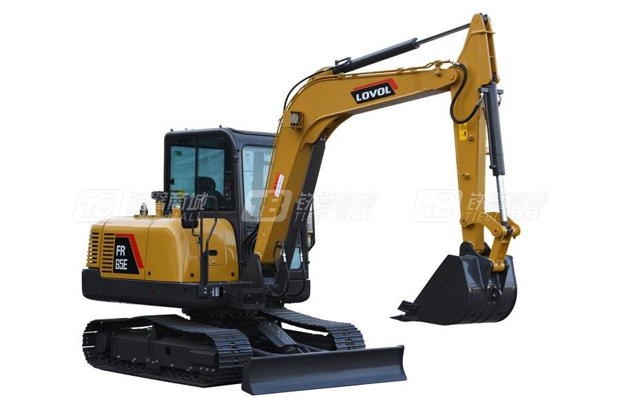 雷沃重工FR65E履带挖掘机