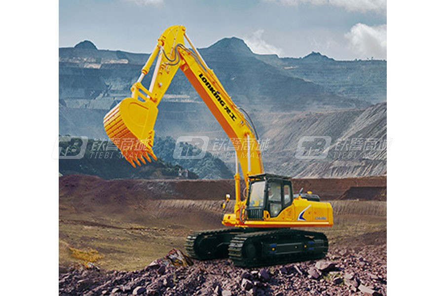 龙工LG6486E液压挖掘机