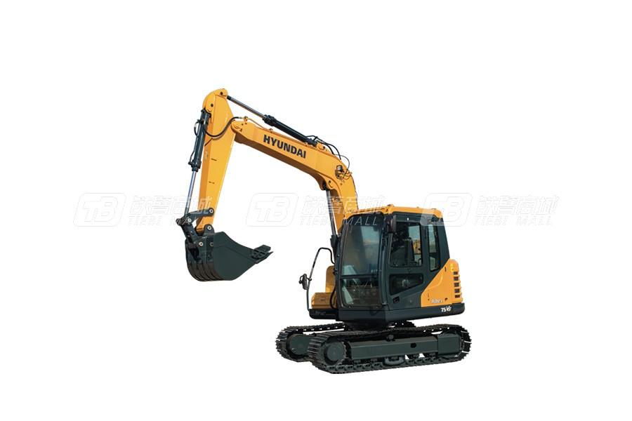 现代R75VS小型挖掘机