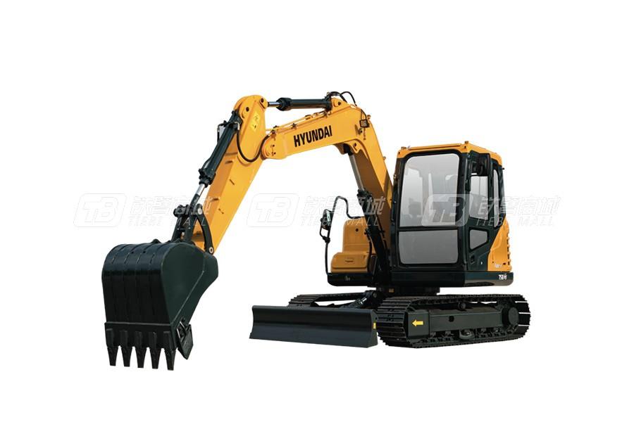现代R75BVS小型挖掘机
