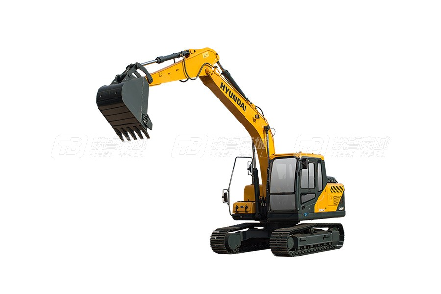 现代R130VS小型挖掘机
