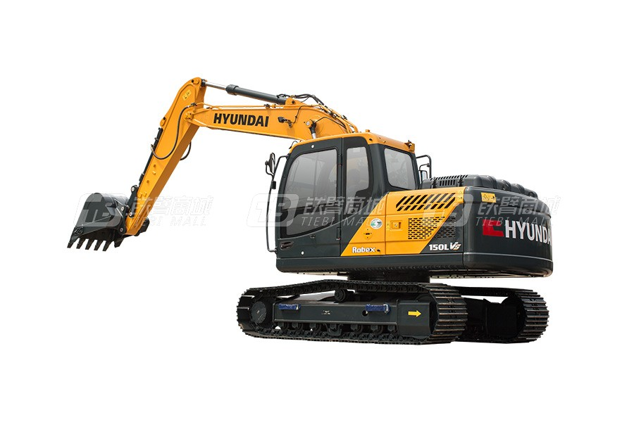 现代R150LVS小型挖掘机