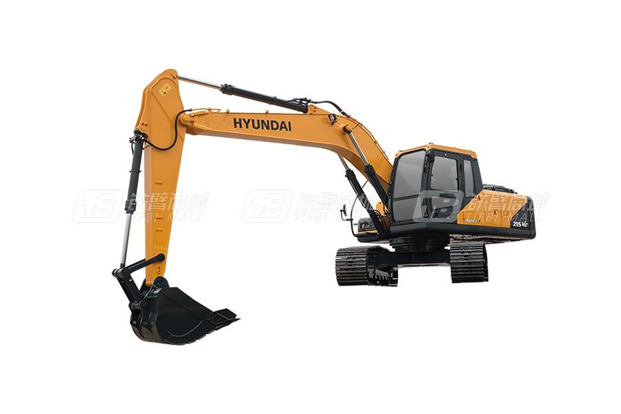 现代R215VS中大型挖掘机