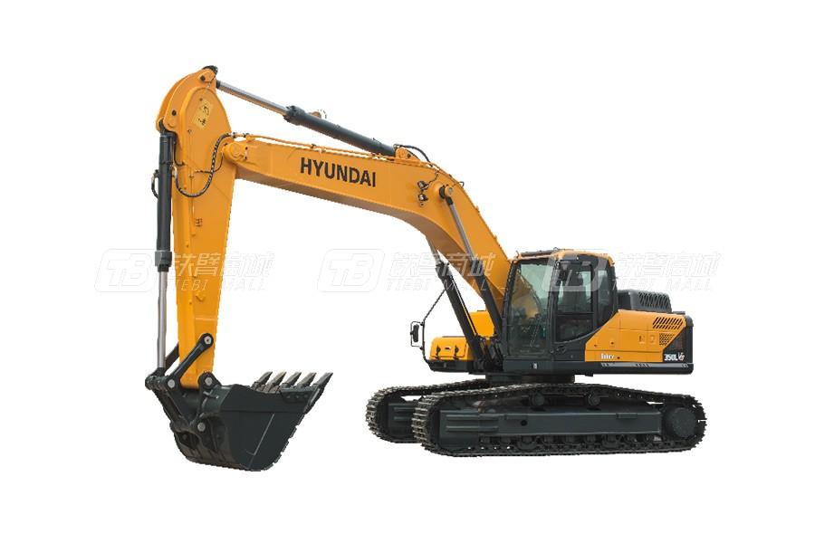 现代R350LVS中大型挖掘机