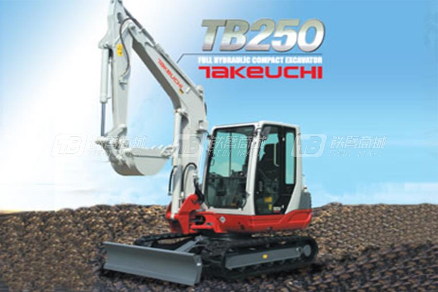竹内 TB250履带挖掘机