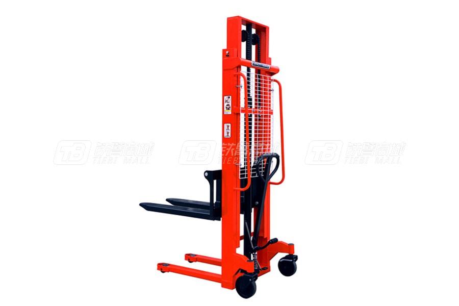 奥津CTY1500-16(MS15-16)双门架手动液压堆高车