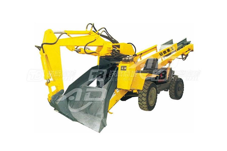 安鼎重工ADAW60轮式斜井专用型扒渣机