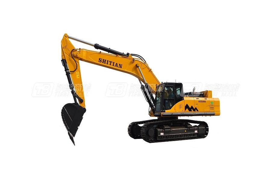 十田重工GC518LC-9履带挖掘机