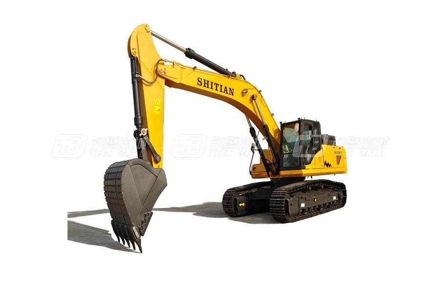 十田重工GC378LC-9履带挖掘机