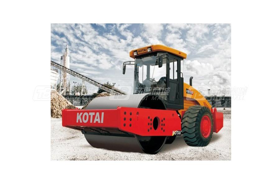 科泰重工KS125D全液压单钢轮压路机