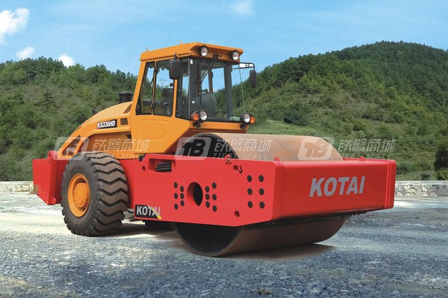 科泰重工KS336HD全液压单钢轮压路机
