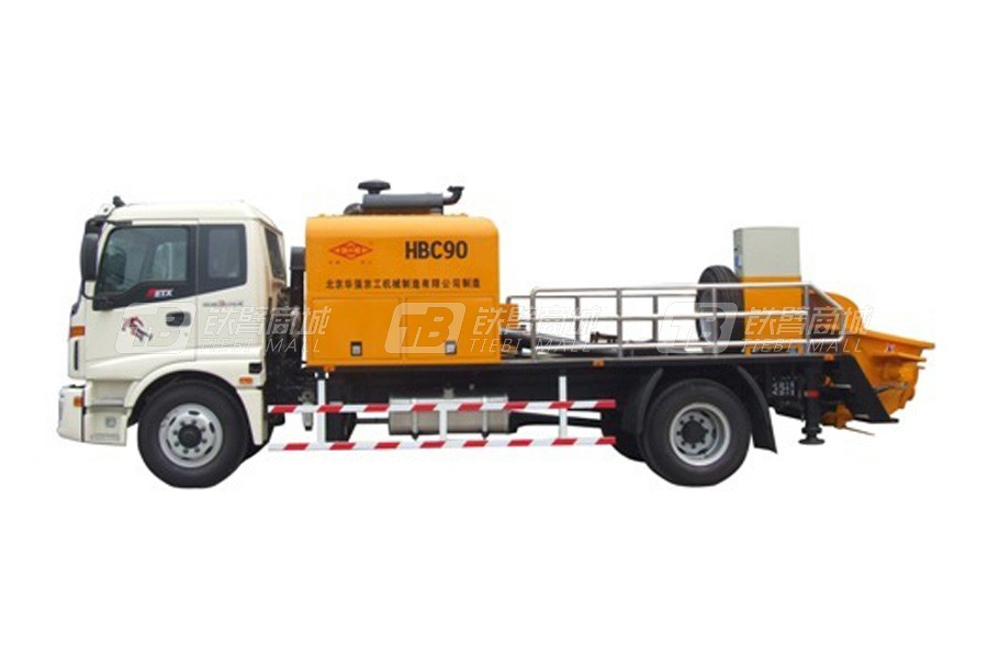 华强京工HBC90.14.161混凝土车载泵车