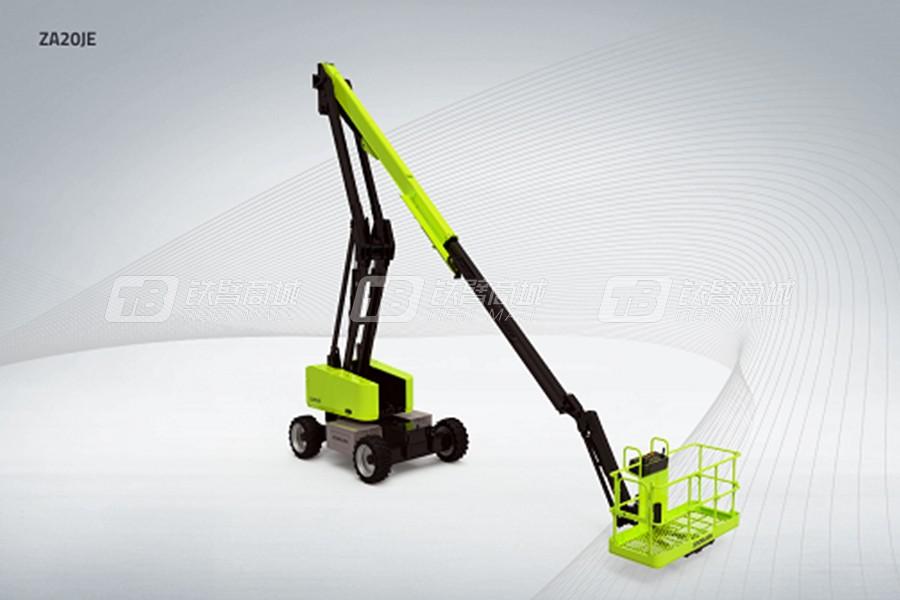 中联重科ZA20JE CE电动曲臂式高空作业平台