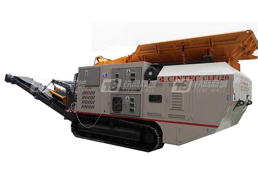 绿能科技CLF450移动破碎站