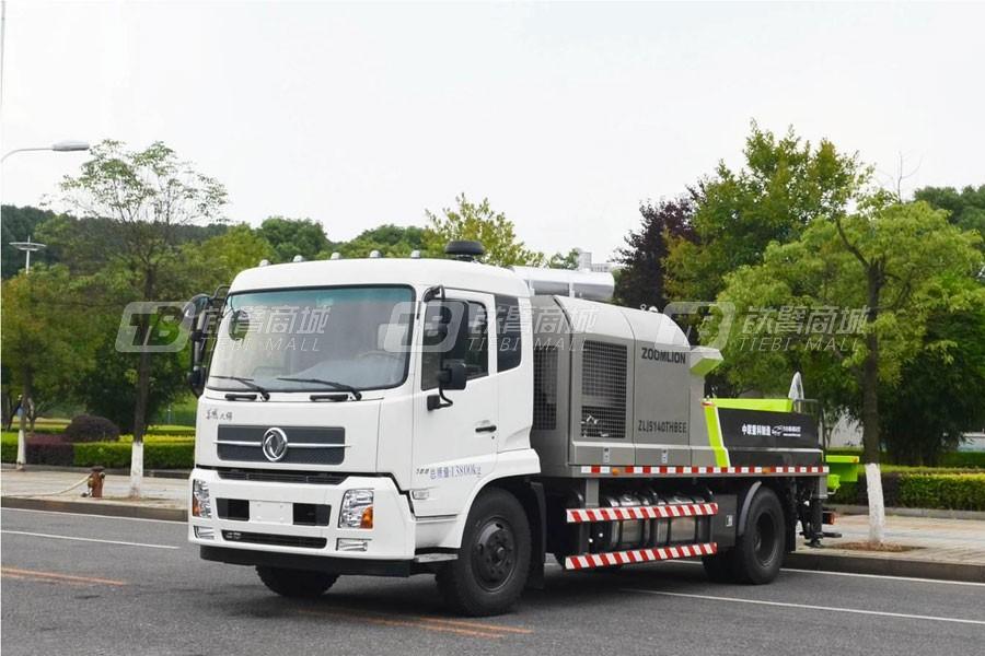 中联重科18MPa东风底盘车载泵