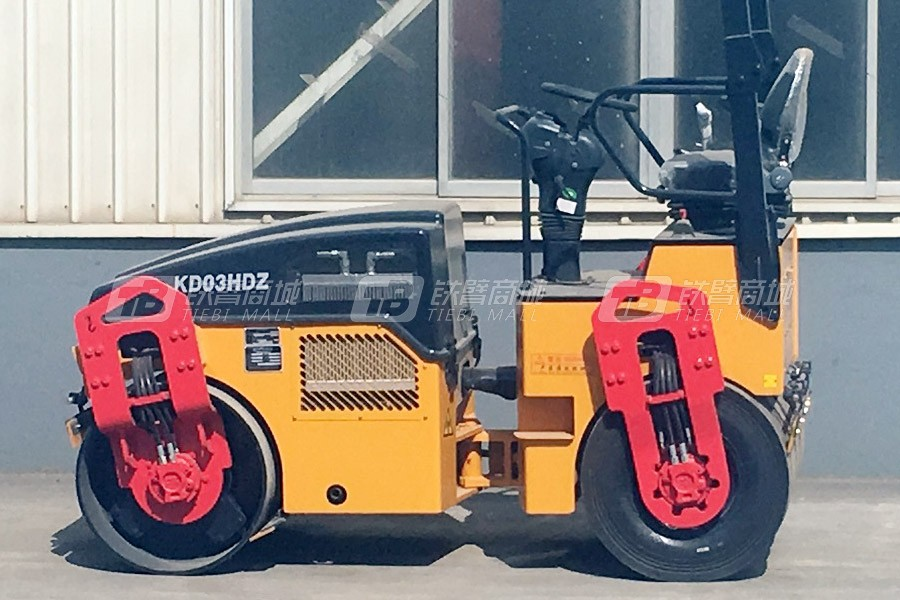 科泰重工KD03HDZ全液压小钢轮压路机