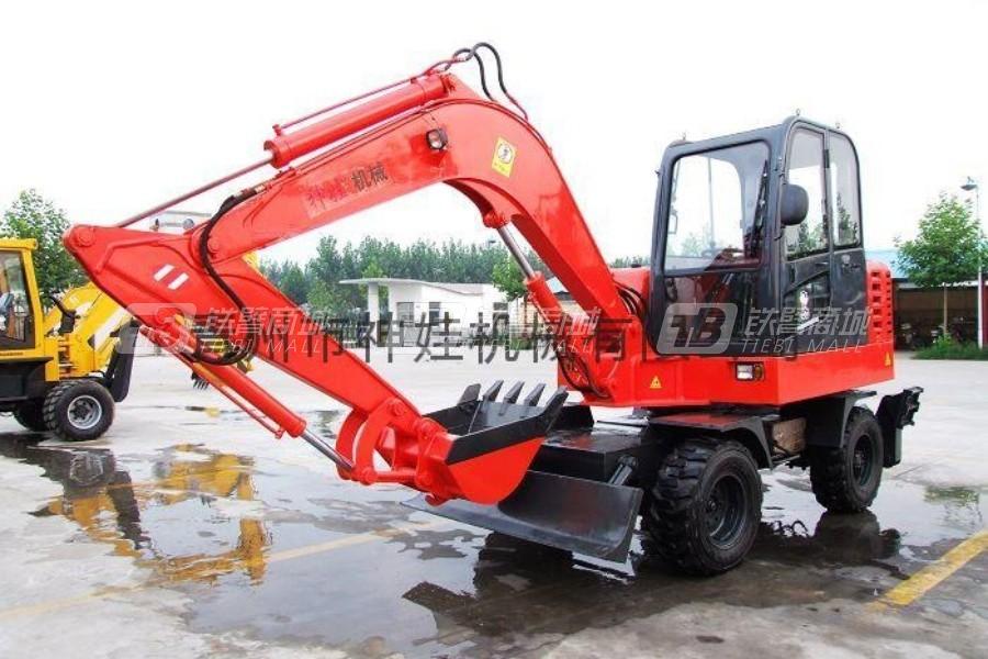 神娃SW-60轮式挖掘机