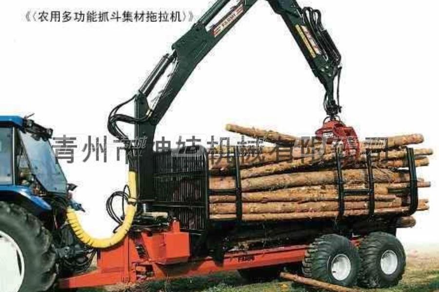 神娃SZ-7600抓木机