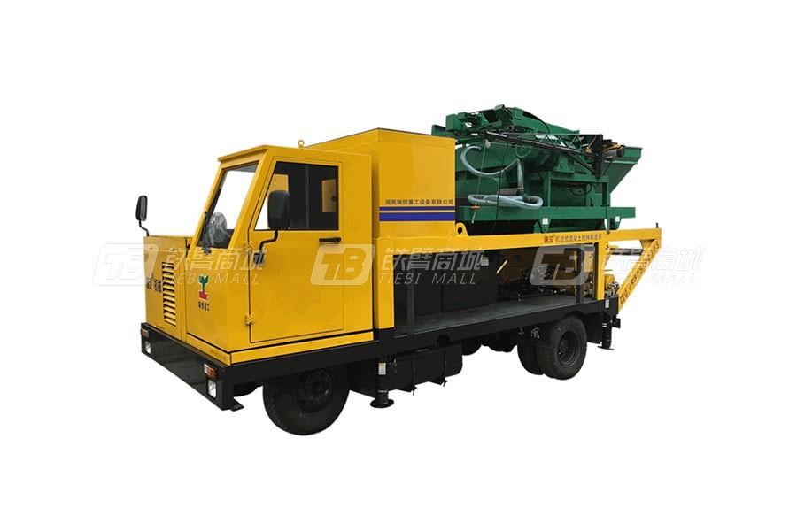 瑞恒重工R50S强制式搅拌车载泵