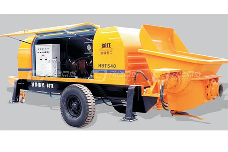 波特HBTS60.13-755D桩机、隧道专用系列拖泵