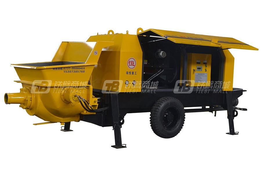 瑞恒重工RH1813-HBT80E-130拖式混凝土输送泵