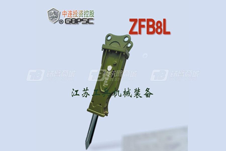 连云港工兵GBPSCZFB8L直立型破碎锤