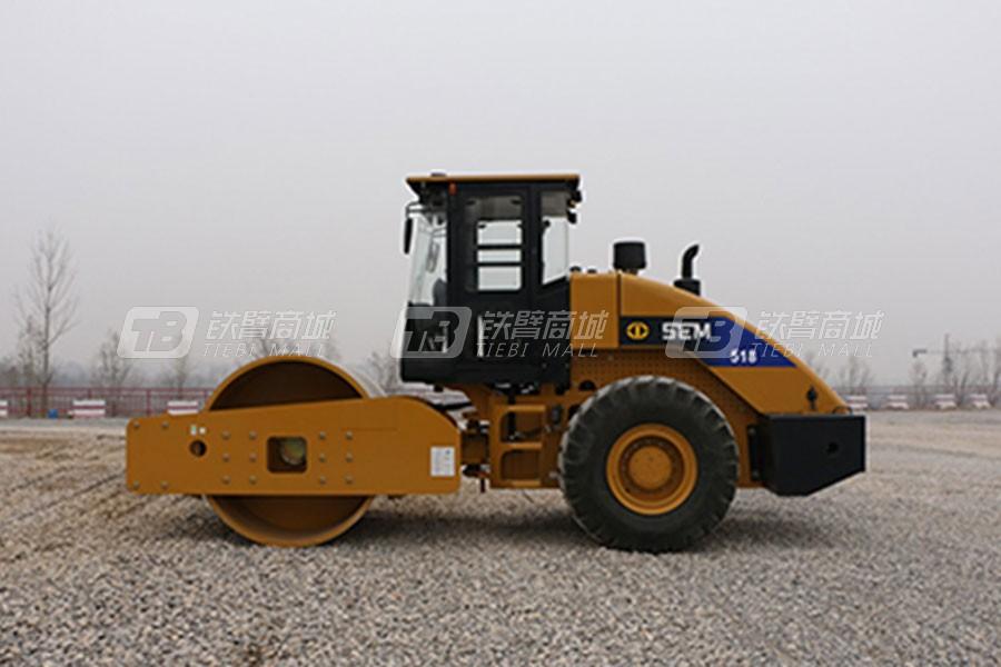 山工SEM518单钢轮压路机图片