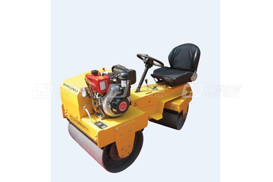 永得力YDL-JS700A驾驶式小型压路机